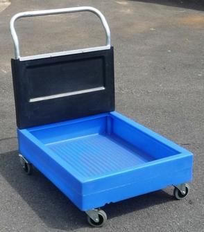 chariot de r tention sur roulette bac mobile de r tention sur roulettes. Black Bedroom Furniture Sets. Home Design Ideas
