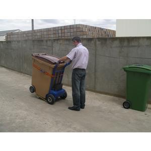Diable pour conteneur poubelles diable motoris pour poubelle - Diable motorise pour escalier ...