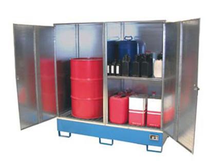 armoire de stockage ext rieur pour produits dangereux armoire de r tention armoire pour. Black Bedroom Furniture Sets. Home Design Ideas