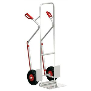 Diable de manutention en inox diable transport inox diable en inox charge 150 kg - Diable de manutention ...