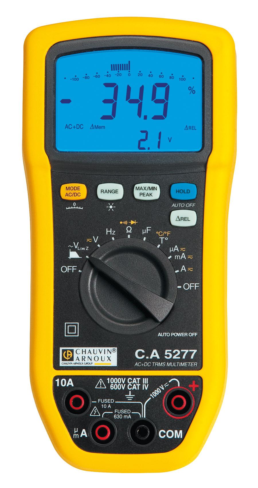Multimètre numérique - Multimètre pour maintenance ...