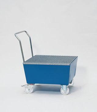 bac de r tention sur roulettes pour f t bac r tention mobile pour fut de liquides inflammables. Black Bedroom Furniture Sets. Home Design Ideas