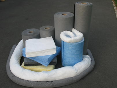 Absorbants industriels tous liquides