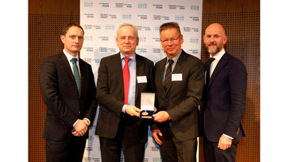 Endress+Hauser Conducta, spécialiste de l'analyse des liquides, reçoit l'European Business Award et le label de qualité TOP JOB