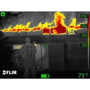cam ra thermique portable de lutte contre les incendies cam ra infrarouge d tection feu et. Black Bedroom Furniture Sets. Home Design Ideas