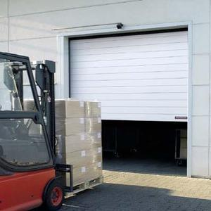 Porte rapide enroulement spirale portes rapides for Porte a enroulement