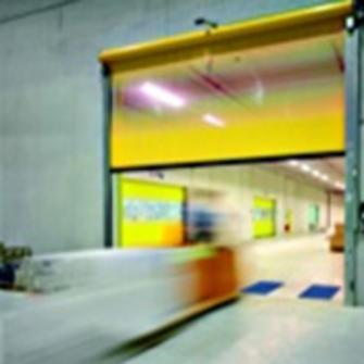 Porte souple enroulement rapide porte souple pour for Porte a enroulement
