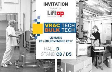 Liftop au Salon VRAC TECH 2017