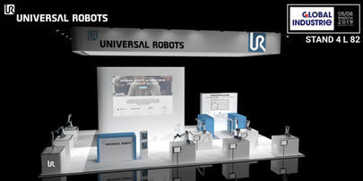 Universal Robots exposera au salon Smart Industries ses dernières applications de cobotique industrielle