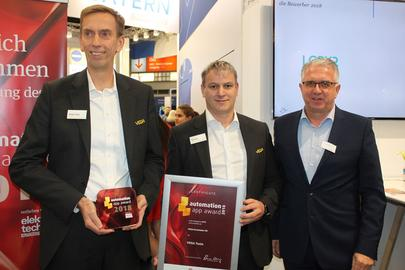L'App VEGA Tools remporte le prix « Automation App Award » sur le salon SPS IPC Drives